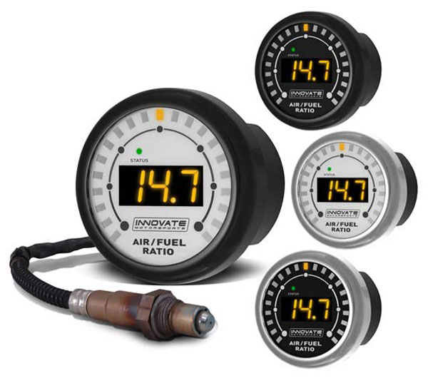 Innovate 3845 |  MTX-L: Complete All-In-One Air/Fuel Ratio Gauge Kit w/O2 Sensor for POWERSPORTS; 1980-2014