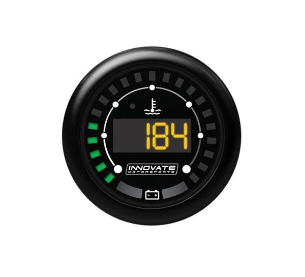 Innovate 3853 |  MTX-D: MTX Digital Series Water Temperature & Battery Voltage Gauge Kit; 1980-2014