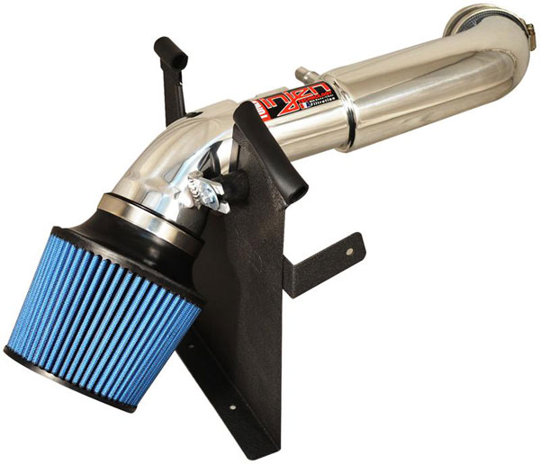 Injen PF9070P |  Power-Flow Air Intake Ford Ranger 4.0L 6 cyl. Tuned Air Intake System with MR Tech., Air Fusion, Heat Shield, Super NanoWeb Dry Filter, Polished; 2004-2011