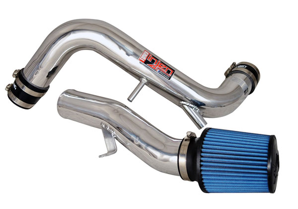 Injen SP1323P |  Cold Air Intake Kia Forte Koup 1.6L Turbo Tuned Cold Air Intake with MR Technology, Super Nano-Web Dry Filter with Inertia top, Polished; 2014-2014