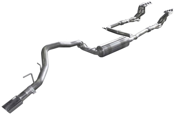 American Racing Headers (IQX56-12134300FSWC)  INFINITI QX 5.6L 2012-2015 Full System With Cats, 1-3/4 HEADER PAIR, YPIPE WITH CATS, MUFFLER, TIPS