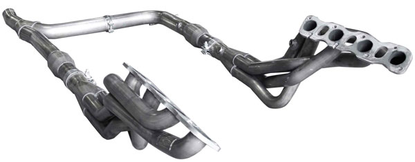 American Racing Headers IQX56-12178300SHWC | INFINITI QX56 & Up Short System with Cats: 1-7/8in x 3in Headers, 3in Y-Pipe With Cats; 2012-2017