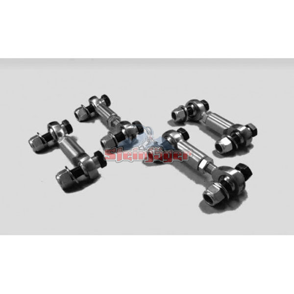 Steinjager J0013977:  Corvette C5 Heavy Duty Front and Rear Sway Bar End Links 1997-04