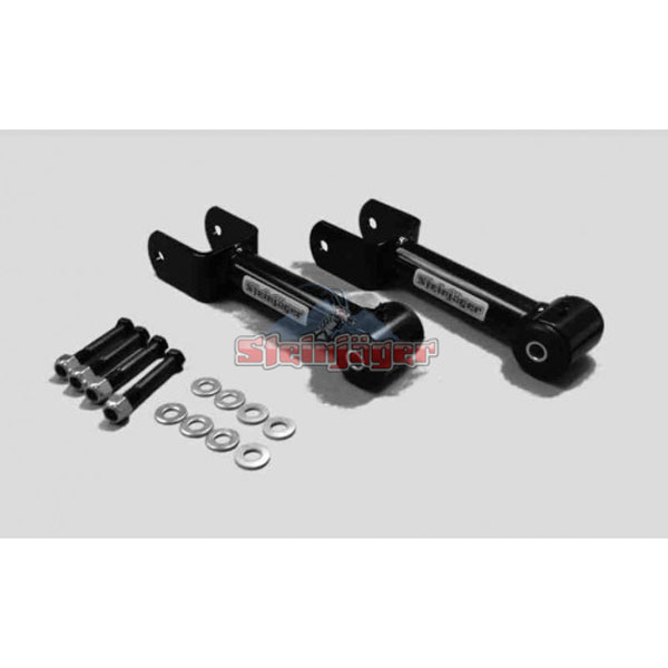 Steinjager (J0023980)  Mustang Rear Upper Control Arm Fixed Length Poly Bushing Black Powdercoat 1979-1993