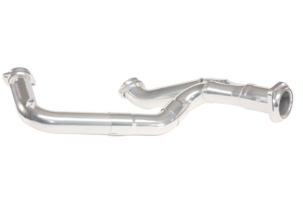 "Kooks Headers JH-000015 | Kooks Headers Jet-Hot Coated GMC Sierra 6.2L 3"" x OEM Outlet Offroad YPipe for Kooks Headers; 2007-2008"