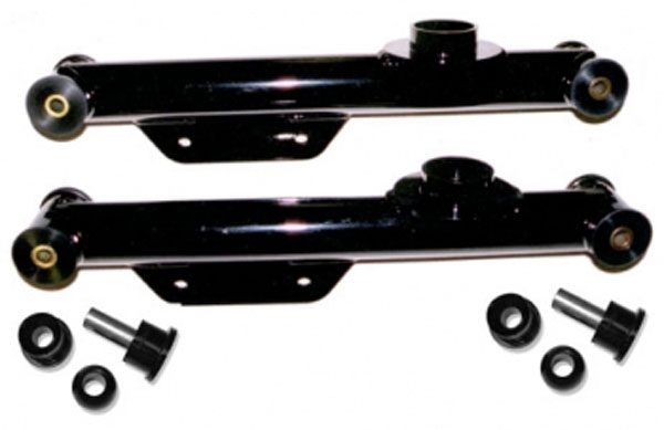 J&M Products 23859:  Street Lower Control Arms 1999-04 Mustang - Black V6