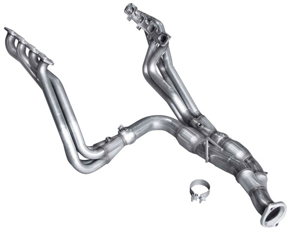 American Racing Headers JPGC-09134300LSNC: Jeep Cherokee 5.7 2009-2010 Long System With Cats, Header 1-3/4 x 3, 3 x 3 Y-Pipe Set With Cats (Square Port Flange)