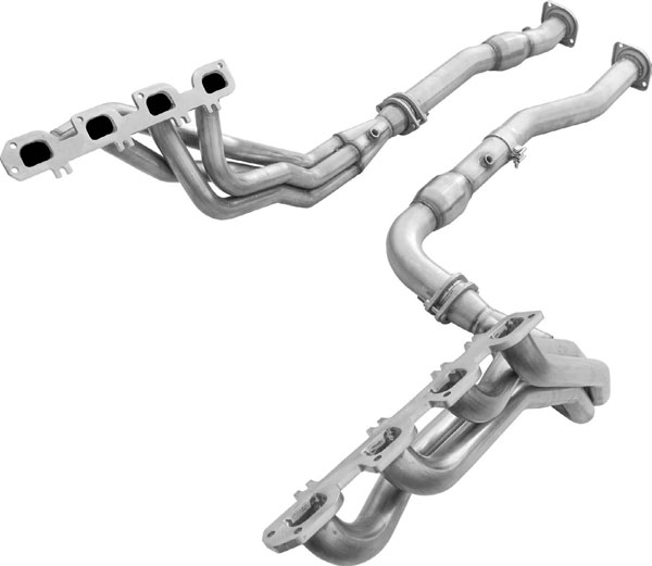 American Racing Headers JPGC-06178300LSNC |  Jeep Cherokee SRT8 Long System No Cats, Header 1-7/8in x 3in, 3in x 3in Connection Pipe Set No Cats; 2006-2010