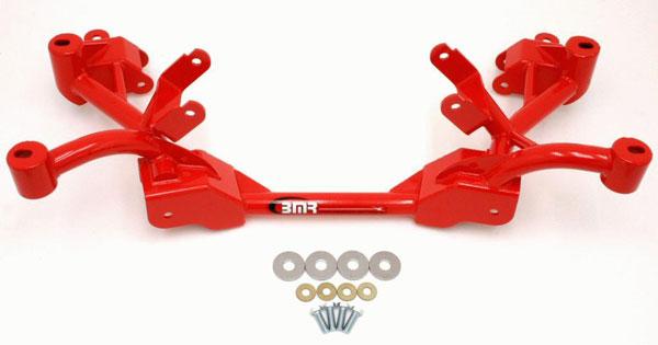 BMR Suspension KM008 | BMR K-member LS1 Motor Mounts Factory Steering Camaro V8; 1982-1992