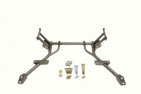 BMR Suspension KM009: BMR Tubular K-member w/o motor mounts 2005-10 Mustang V8