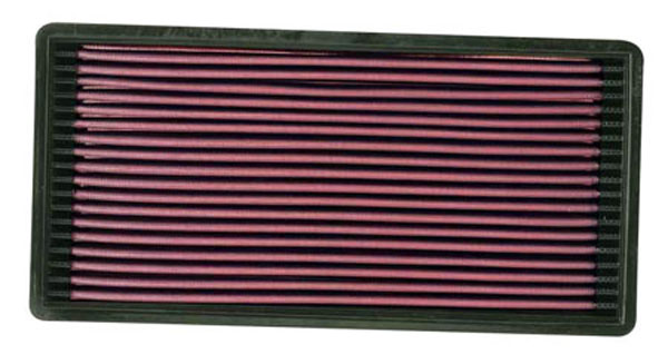 K&N Filter 33-2018 | K&N Air Filter For Jeep Cherokee / Comanche / Wagoneer 2.5L/4.0L; 1987-2000