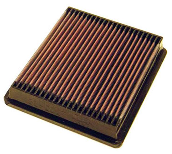 K&N Filter 33-2027 | K&N Air Filter For Mazda 323 / mercury Tracer-panel; 1985-1995