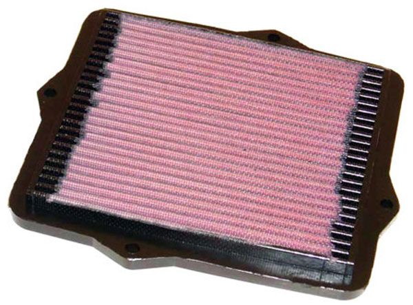 K&N Filter 33-2047 | K&N Air Filter For Honda Cvc 1.4L / 1.5 / 1.6L; 1991-2001