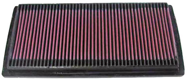 K&N Filter 33-2084: K&N Air Filter For Dodge Ram P/u 3.9l / 5.2l / 5.9l 94-02
