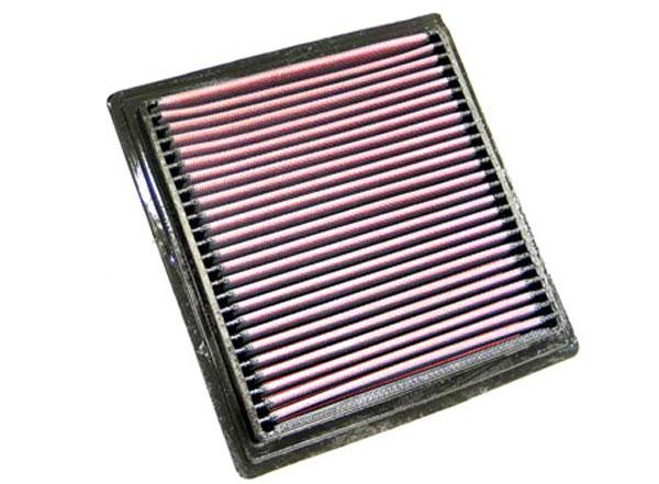 K&N Filter 33-2104 | K&N Air Filter For Honda Civic 1.5/1.6L / Cr-v 2.0L; 1995-2005