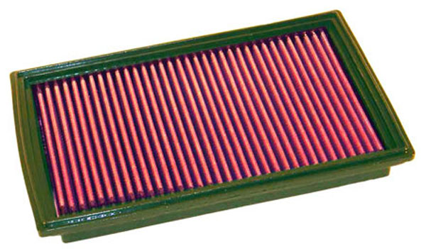 K&N Filter (33-2157) K&N Air Filter For Mazda 626 2.0 & 2.5l / 1998-2000