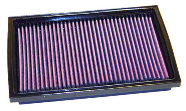 K&N Filter 33-2168 | K&N Air Filter For Kia Sportage 2.0L I4; 1995-2004