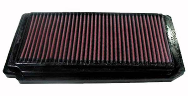K&N Filter 33-2174 | K&N Air Filter For Honda Odyssey 3.5L V6; 1999-2004
