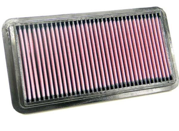 K&N Filter 33-2180 | K&N Air Filter For Honda Insight 1.0L I3 Gas Electric Hybrid; 2000-2006