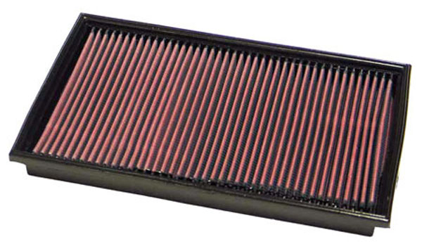K&N Filter 33-2184: K&N Air Filter For Mercedes E320 3.2l V6 & E430 4.3l V8; 2000