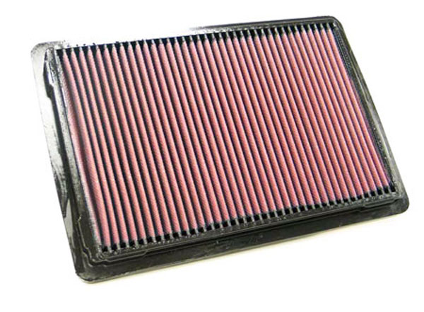 K&N Filter 33-2195 | K&N Air Filter For Ford Crown Victoria & Mercury Grand Marquis 5.0L V8; 1986-1991