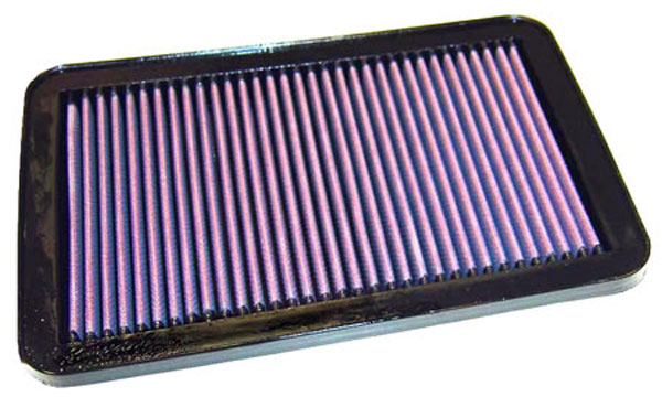 K&N Filter 33-2198: K&N Air Filter For Hyundai Santa-fe 2.4l-i4 & 2.7l-v6; 2001