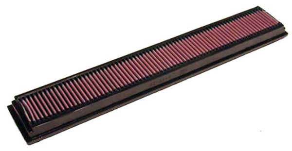 K&N Filter 33-2244: K&N Air Filter For Mercedes C180 2.0l-i4; 01-02