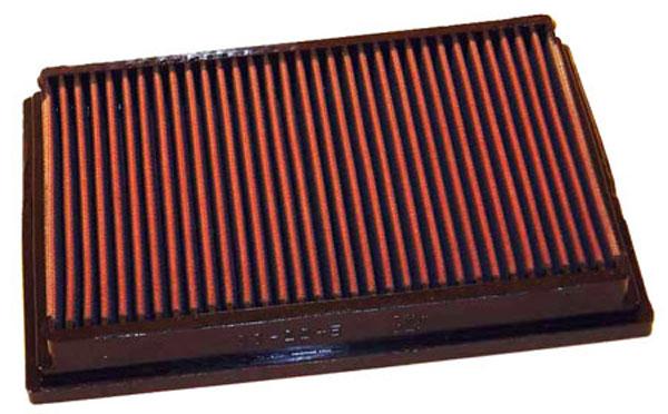 K&N Filter 33-2245 | K&N Air Filter For Peugeot 307 1 4L-8v / 1 6L-16v /  2 0L-16v / 2 0L-hdi Diesel