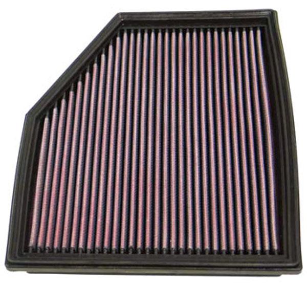 K&N Filter 33-2292 | K&N Air Filter For Bmw 525i / 2.5L-l6; 2003-2011