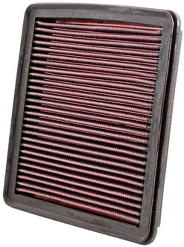 K&N Filter 33-2304 | K&N Air Filter For Sub Outback 03-10 / Leg 05-10 / Impreza 07-10 / Forester 08-10