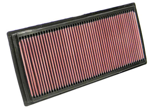 K&N Filter 33-2324 | K&N Air Filter For Nissan Frontier 2.5l - L4; 2005-2010