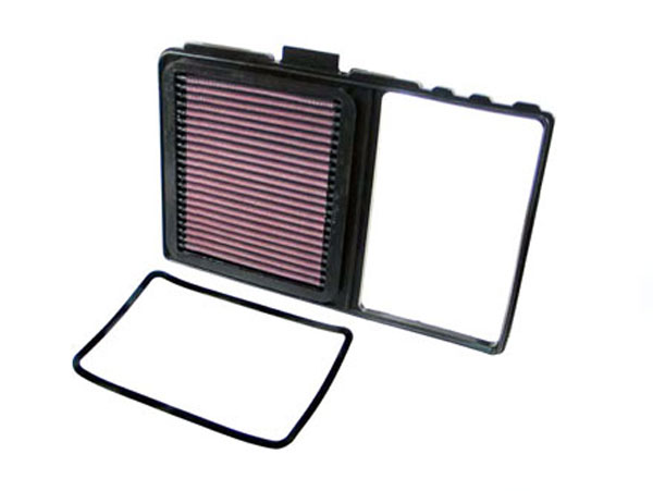K&N Filter 33-2329: K&N Air Filter For Toyota Prius 1.5l-l4; 2004-2009
