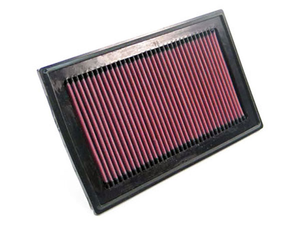 K&N Filter 33-2336 | K&N Air Filter For Saab 9-2x 2.0l & 2.5l-l4; 2004-2006