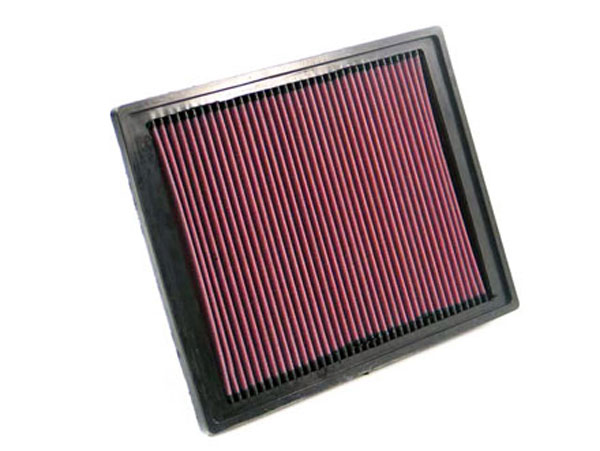 K&N Filter 33-2337: K&N Air Filter For Saab 9-3 2.0l / 2.3l & 2.5l-l4; 2004-2006