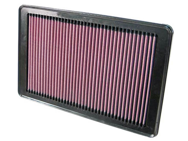 K&N Filter 33-2358: K&N Air Filter For Saturn Ion 2.2l-l4 & 2.4l-l4; 2006-2007