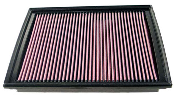 K&N Filter 33-2363: K&N Air Filter For Dodge Nitro 2007-2010; Jeep Liberty / Cherokee 2008-2010