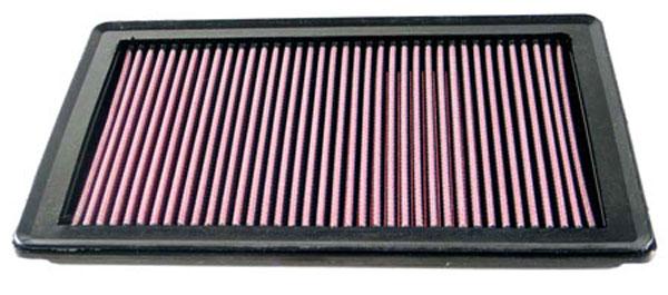 K&N Filter 33-2366 | K&N Air Filter For Ford Explorer / Sport Trac 06-10; Mercury Mounaineer 06-09