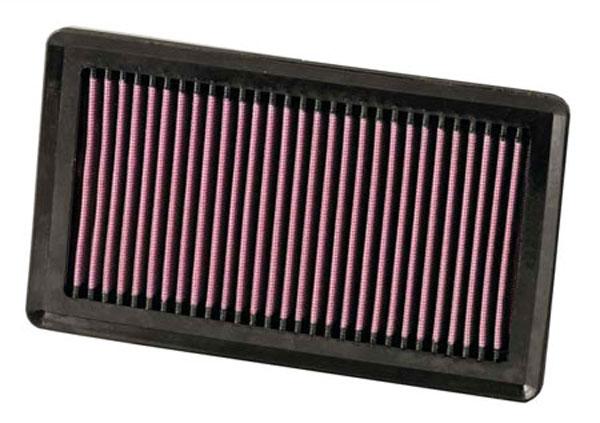 K&N Filter 33-2375 | K&N Air Filter For Nissan Versa 1.8L-l4; 2005-2011