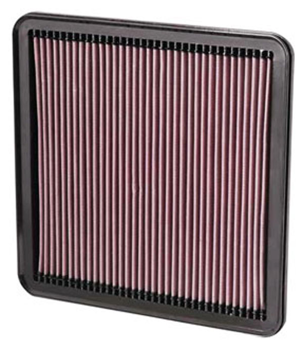 K&N Filter 33-2387 | K&N Air Filter For Toyota Tundra / Sequoia / Land Cruiser; 2007-2011