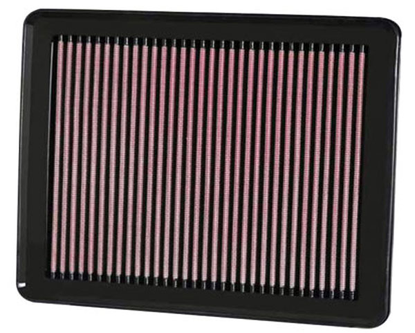 K&N Filter 33-2403 | K&N Air Filter For Honda Accord 3.5L V6; 2008-2012