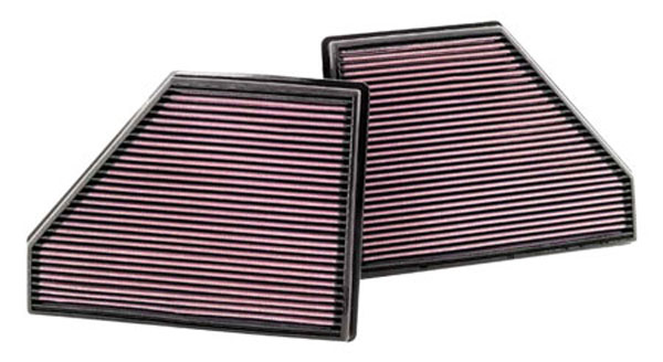 K&N Filter 33-2407: K&N Air Filter For Bmw X5 4.8l-v8; 2008 (2)