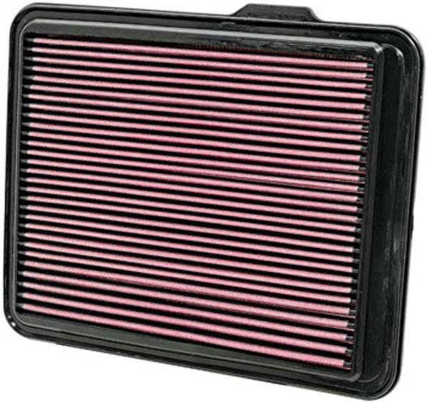 K&N Filter 33-2408 | K&N Air Filter For Hummer H3 5.3L-v8; 2008-2011
