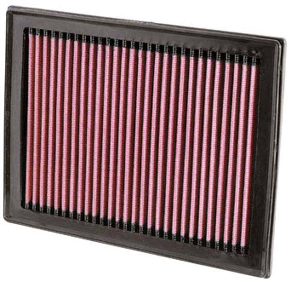 K&N Filter 33-2409 | K&N Air Filter For Nissan Sentra 2.5L-l4; 2007-2012