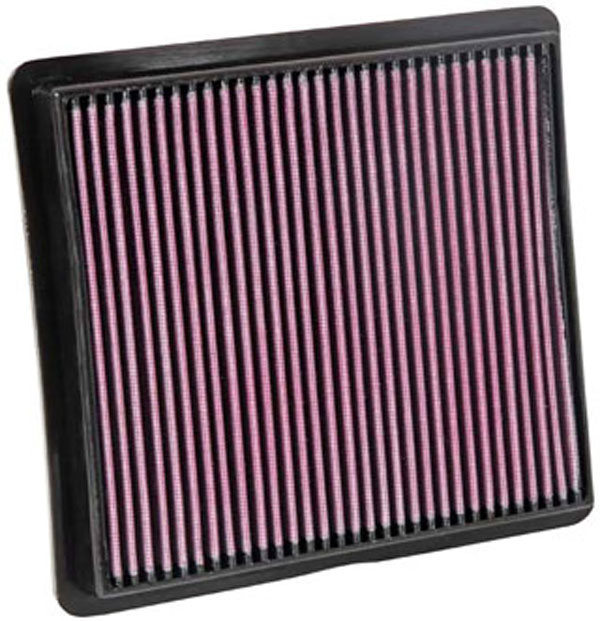 K&N Filter 33-2419: K&N Air Filter For Dodge Caravan 3.3l V6; 2008
