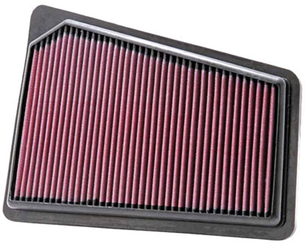 K&N Filter 33-2427: K&N Air Filter For Hyundai Genesis 3.8l; 2009