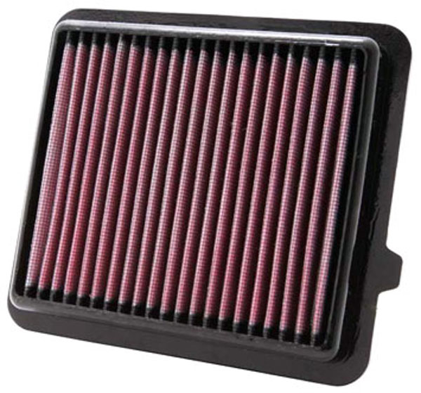 K&N Filter 33-2433: K&N Air Filter For Honda Insight 1.3l L4; 2010