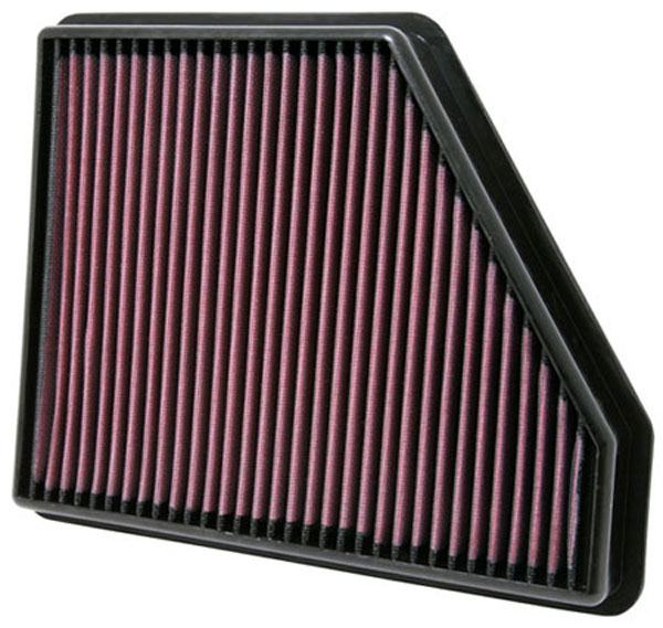 K&N Filter 33-2434 | K&N Air Filter For Camaro 2010-14 3.6L / 6.2L / ZL1