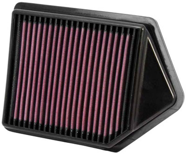 K&N Filter 33-2437: K&N Air Filter For Honda Cr-v 2.4l L4; 2010