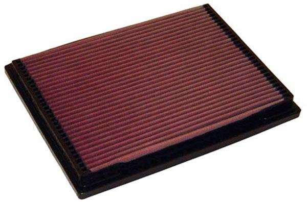 K&N Filter 33-2703 | K&N Air Filter For Mercedes Ml320 / C230 / C280 / Clk320; 1993-2010