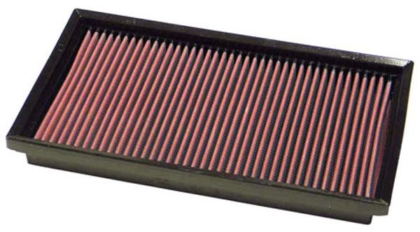 K&N Filter 33-2705 | K&N Air Filter For Mercedes Benz 280 Series W124; 1992-1998